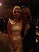 Miley Cyrus - Marchesa fashion show in New York - February 13, 2013
