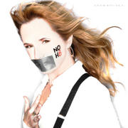 Lea Thompson - Photoshoot For The NOH8 Campaign