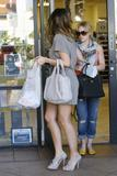 Hilary &amp;amp; Haylie Duff - Shopping at Planet Beauty Supply in Studio City, April 18, 2010