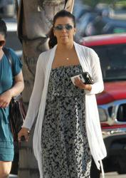 Eva Longoria - at church in North Hollywood 8/18/13