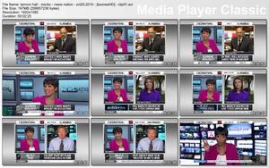"TAMRON HALL - ""MSNBC: NEWS NATION"" - (October 20, 2010) - *legs & cleavage*"