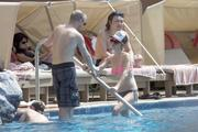 Терин Мэннинг, фото 352. Taryn Manning - wearing a bikini at a pool in Hawaii 03/04/12, foto 352