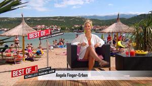 Angela finger erben upskirt