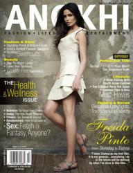 Freida Pinto - Anokhi Magazine Summer 2012
