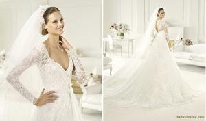 th 869286396 tduid3739 2013 Elie By Elie Saab bridal style BIRGIT B 122 512lo 2013 Elie By Elie Saab Wedding Dresses