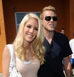 Heidi Montag Leggy in White Shorts at Raise Awareness in Support of World Hunger Relief -